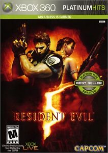 Resident-Evil-5-Xbox-360-original-game-opened-but-good-as-new