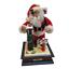 thumbnail 1 - Holiday-Scene-Musical-Santa-Noel-Christmas-Carol-Lighted-North-Pole-1990-Vintage