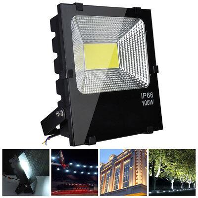 100W LED Flood Light Cool White Outdoor Security Spot Lamp 300 Watt Equivalent