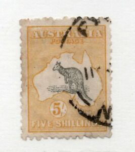 Australia - SG# 42 Used (1 pulled perf) / wmk 6 Narrow Crown - Lot 0720156