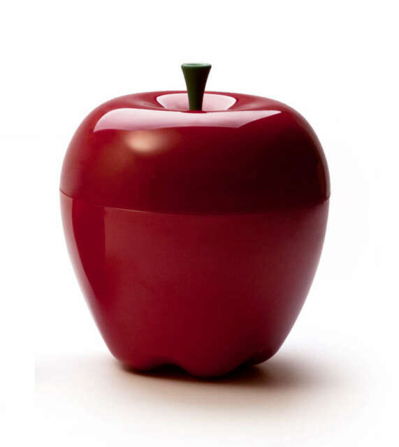 Merveilleux Qualy Design Storage Box Happle Container New Apple Fruit Bowl Box Big