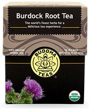 Burdock Tea, Buddha Teas, 18 tea bag 1 pack