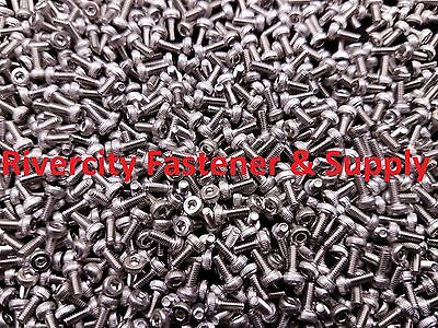 2mm x 3mm M2-0.4x3mm Socket Allen Head Cap Screws Stainless Steel M2X3mm 250