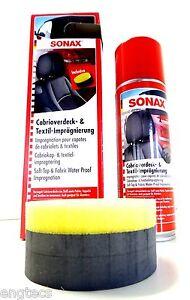 79-67-L-Sonax-convertible-capota-amp-textilimpragnierung-sellado-Alcantara