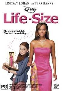 Life-Size-NEW-DVD-Lindsay-Lohan-Tyra-Banks-Tom-Butler-Region-4-Australia