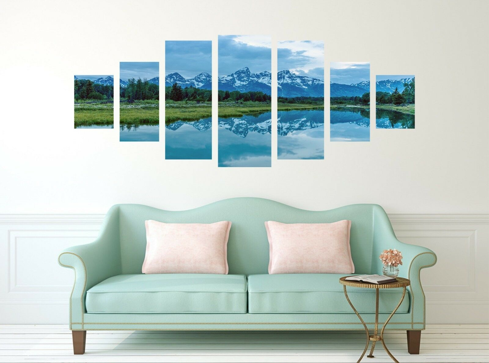 3D Natural View 6 Unframed Print Wall Paper Decal Wall Deco Indoor AJ Wall