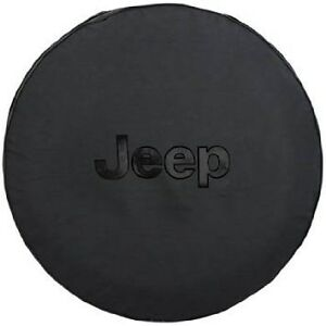 black cloth spare tire cover jeep wrangler liberty mopar oem brand. Cars Review. Best American Auto & Cars Review