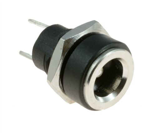 DC POWER SOCKET JACK CONNECTOR MALE FEMALE PANEL MOUNT PCB 1.3//2.1//2.5MM X 5.5MM