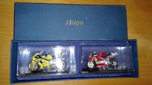 Ducati 998r et Suzuki Gsx-r 750 2002 Don d'abonnés Altaya Ixo 1/24