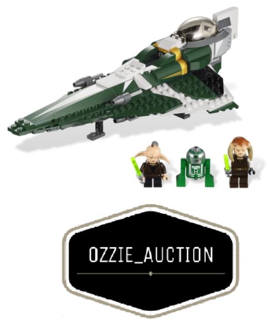 Lego Star Wars - Saesee Tiin's Starfighter [9498]