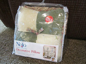 nojo decorative throw pillow infant baby nursery crib kids room