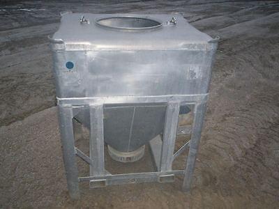 Aluminum Stackable Portable Tote Hopper Bin | eBay