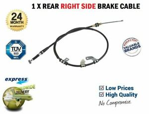 1x-RIGHT-SIDE-HANDBRAKE-CABLE-for-SUZUKI-JIMNY-1-3-16V-4WD-2001-gt-on