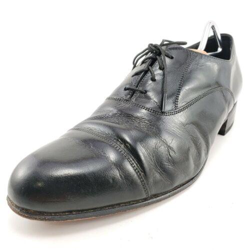 Florsheim Vintage Black Leather The Florsheim Shoe