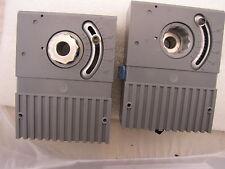 2ea Used Rotary Damper Actuator 12 Shaft 24vac 30 115 Deg 2 Minute Eda 2040 21
