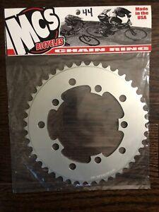 MCS BMX 110 CHAINRING USA MADE CNC 42T BLUE