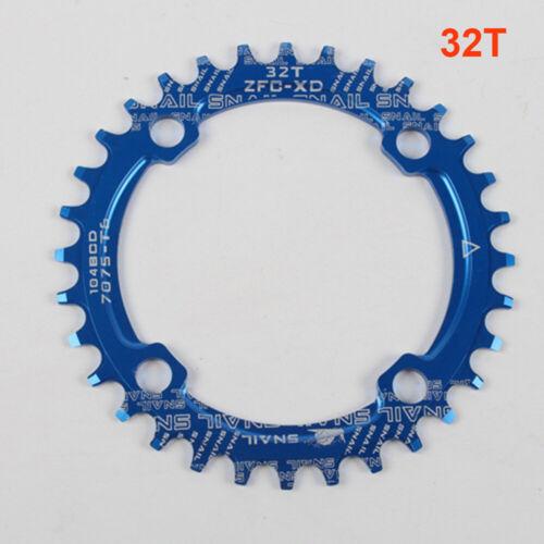 104//110BCD 32T 34T 36T 38T 50T 52T MTB Bike Chainring Narrow Wide Chainwheel f