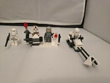 LEGO Star Wars Snowtrooper Minifigure Lot x2-7666 7749 7879 8084 8129 75146