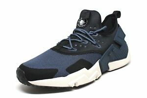 61e45258f4db43 Nike Air Huarache Drift Thunder Blue Desert Sand-Black (AH7334 401 ...