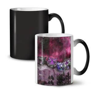 Tiger Space Beast NEW Colour Changing Tea Coffee Mug 11 oz | Wellcoda