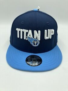 Tennessee-Titans-NFL-New-Era-9FIFTY-Adjustable-Snapback-Hat-Cap-Blue-Youth-Size