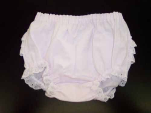 6 Infant//Toddler//Girls Light Pink Rumba Bloomers *2 Pair Set* Size NB