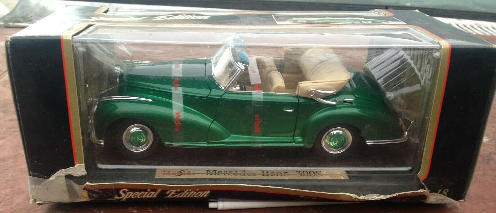 1955 MERCEDES-BENZ 300 S Maisto Special edition 1 18 Scale Diecast Model