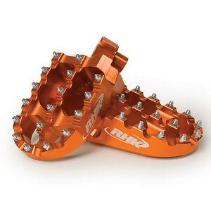 KTM-85SX-2013-2014-2015-Wide-Footpegs-Foot-Pegs-Orange-RHK-F03-O