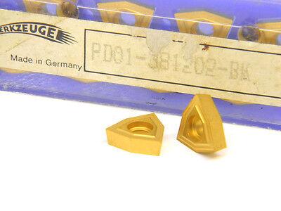 Brand New Komet Unisix Insert Gold Coated PD1-8304-BK Box of 10 Inserts