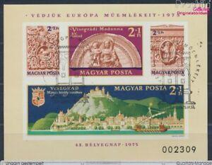 Ungarn-Block115B-ungezaehnt-gestempelt-1975-8641300