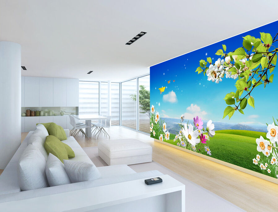 3D Paper Airplane Airplane Airplane Flowers 91 Paper Wall Print Wall Decal Wall Deco Indoor Murals cd9b88