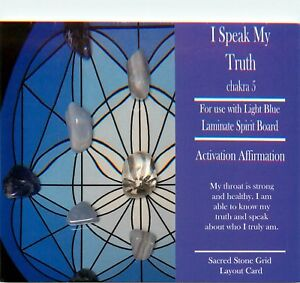 I-SPEAK-MY-TRUTH-Grid-Card-4x6-034-Heavy-Cardstock-For-Use-with-Healing-Crystals