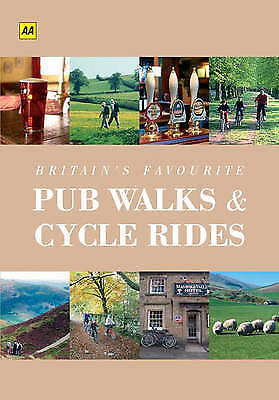 """AS NEW"" AA Britain's Favourite Pub Walks and Cycle Rides (Walking Books), Estes"