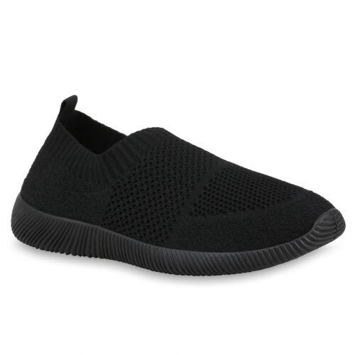Damen Sportschuhe Slip On Sneaker Strick Laufschuhe Gym Sneaker 833221 Trendy
