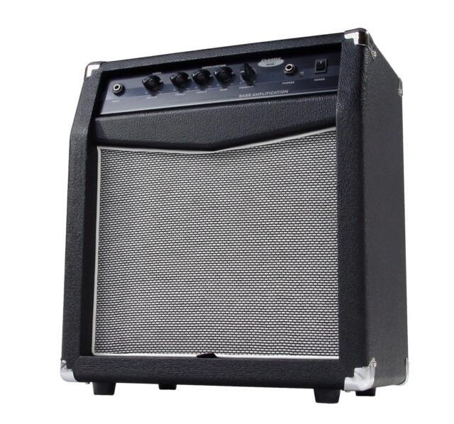 Bass Combo Amp Amplifier 60W 10'' Spekaer Bass Reflex Technology 4-Band EQ