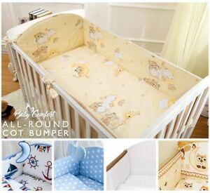 3 Teiliges Baby Bettwäsche Set 120x60140x70 Cm Mit 4 Seitig