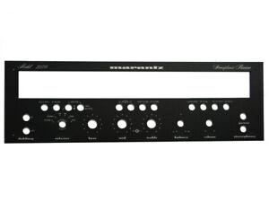 Replika-der-Abdeckplatte-Frontpanel-fuer-das-Marantz-2270-Empfaenger-BLACK