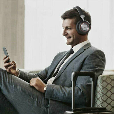 Utaxo Bluetooth Noise Cancelling Headphones With Mic For Travel Work Tv Pc Phone Ebay