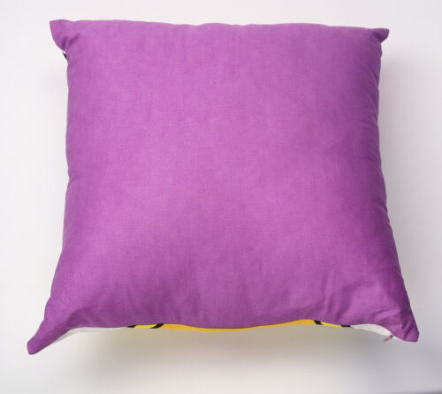DISNEY LICENSED DAISY DUCK KIDS PURPLE PILLOW CUSHION 45x45cm **FREE DELIVERY**
