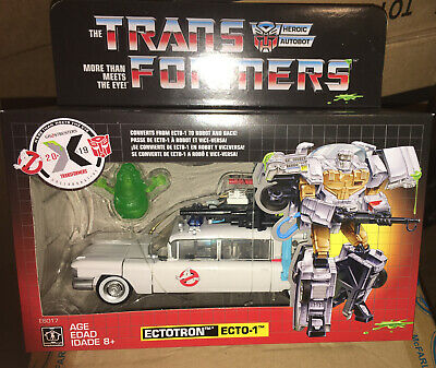 Transformers Crossover Ghostbusters Ecto-1 Ectotron Exclusive