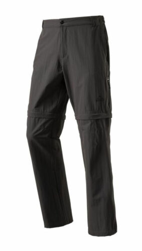 McKinley Hommes Randonnée Outdoor Abzipphose Pantalon Minden II Gris