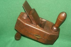 FINE-USER-CLEAN-Antique-19th-Century-Wooden-Adjustable-Rounder-Plane-Inv-HK34