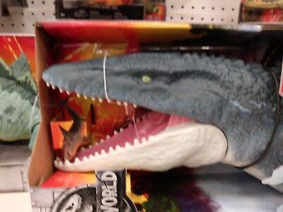 2018 Jurassic World Fallen Kingdom Real Feel Mosasaurus NIB Mattel SOLD OUT