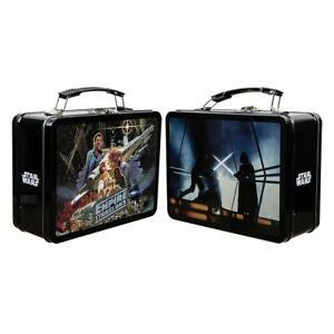 Star Wars The Empire Strikes Back Large Tin Tote Lunch Box Dark Side Darth Vader