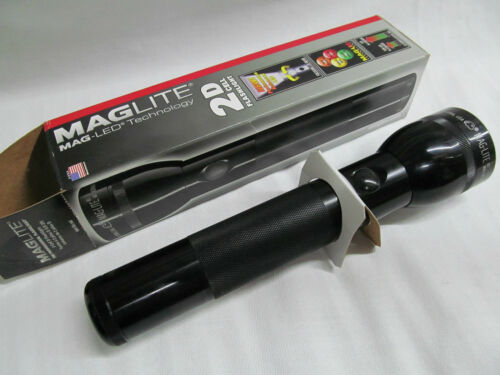 Maglite Mag ST2D015 LED 2-D Cell Flashlight Black Emergency Camping ZZ030402