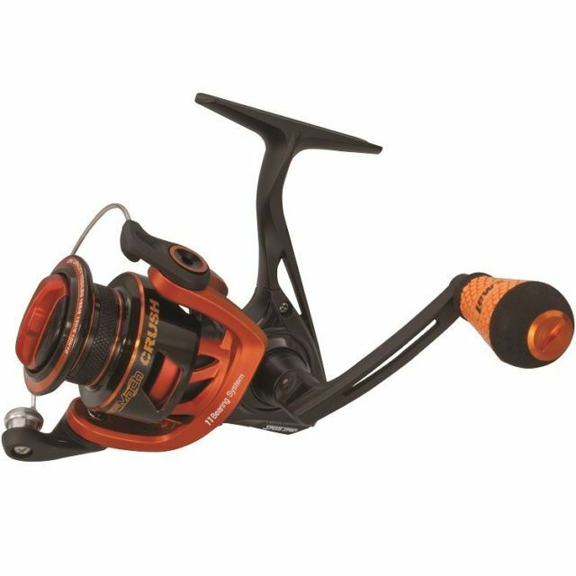 LEW'S Mach Crush Speed Spin Series Reel Spinning Reel Series Gear Ratio 6.2:1  MCR200 dca055