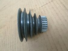 New Listing Atlas Craftsman 618 101 6 Metal Lathe Spindle Step Pulley With Gear