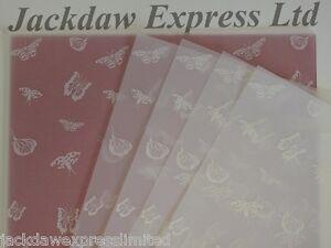 25-hojas-100gsm-A4-traslucido-Papel-Vitela-Blanco-Mariposas-Diseno-am525