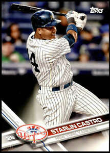 Starlin-Castro-2017-Topps-Team-Sets-5X7-New-York-Yankees-NYY-14-99-Yankees