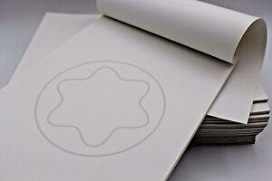 Montblanc-Block-Notizblock-Schreibheft-Papier-A5-21-x-14-80-je-Stueck-30-Blatt
